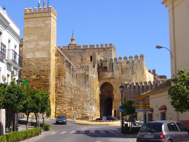 Carmona alc zar puerta de sevilla my trip to for Puerta de sevilla carmona
