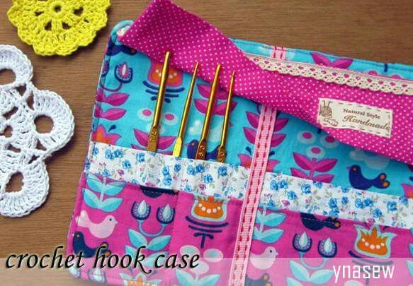 crochet hook wallet