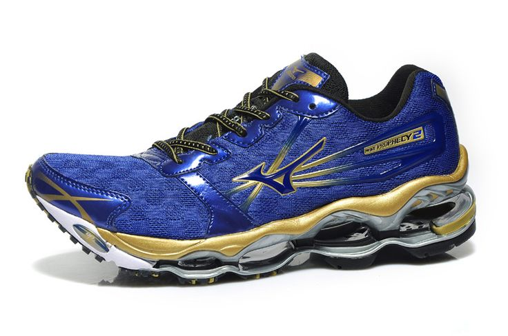 Mizuno Wave Prophecy 2 Blue Mens Shoes