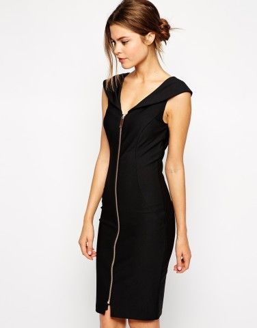 Ted Baker | Ted Baker Body-Conscious Dress with Zip, How would you accessorize this? http://keep.com/ted-baker-ted-baker-body-conscious-dress-with-zip-by-billiewei/k/05aUoRgBKZ/
