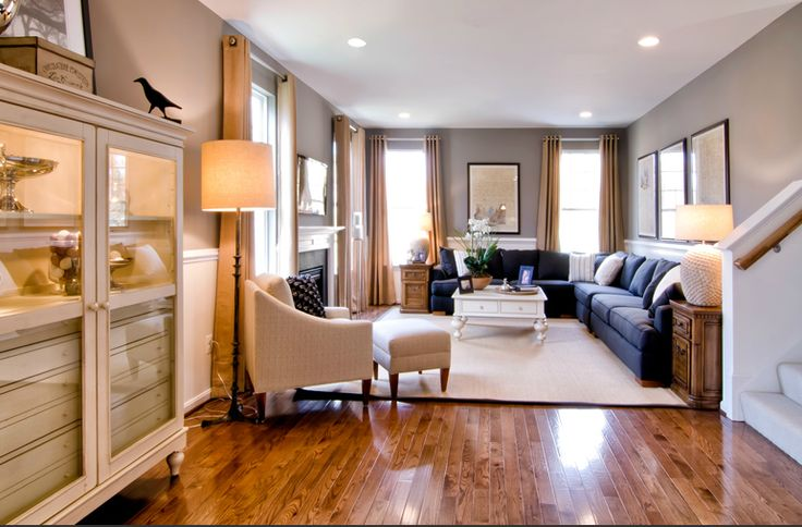 How To Design A Long Living Room: Family Room.. Long Living Room Layout