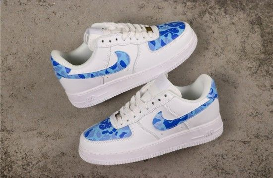 Custom Denim Fabrics and Unique Washes For These Air Forces