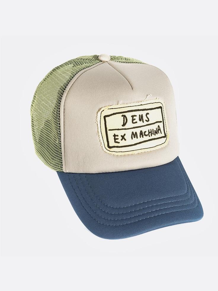 Ahhh! I love Deus Ex Machina Motorcycles!! I want this hat!
