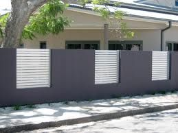 front fence ideas - Google Search