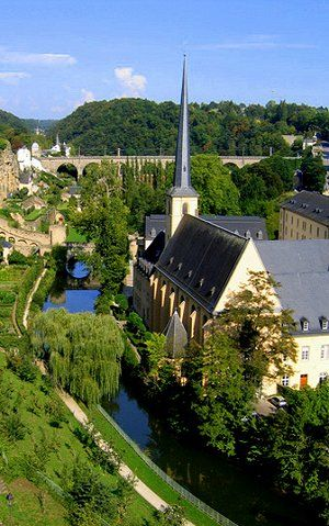 Luxembourg - We returned here recently to visit this beautiful and hilly country.
