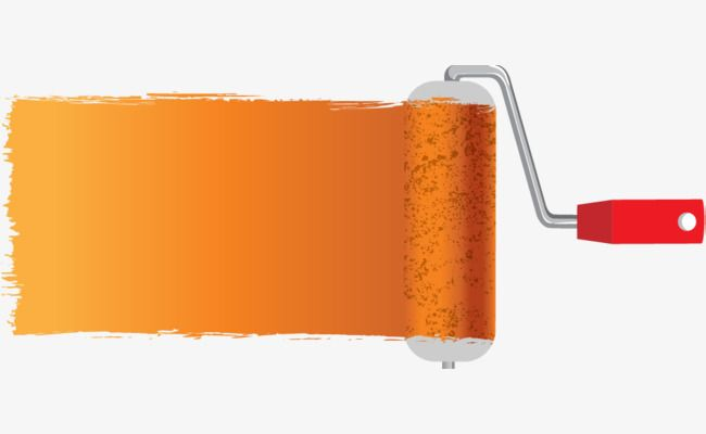 Cartoon Paint Roller Cartoon Paint Roller Png And Vector With Transparent Background For Free Download Cartoon Painting Painting Logo Paint Roller