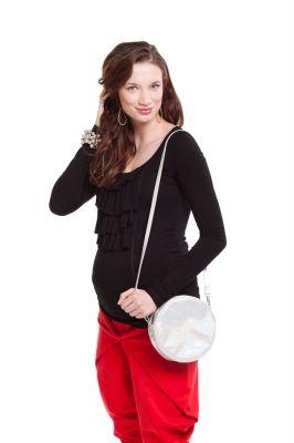 Maternity blouse Oktavia/Bluzka ciążowa OKTAVIA http://maternity24.pl/pl/p/Bluzka-ciazowa-OKTAVIA-czarna/1360