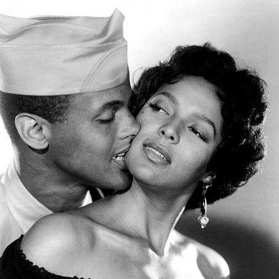 "Corporal Joe & Carmen Jones (Harry Belefonte & Dorothy Dandridge) in the movie ""Carmen Jones"""