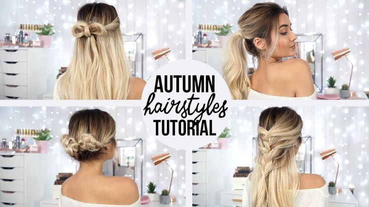 arganoil-benefits… – 4 QUICK & EASY HAIRSTYLES FOR AUTUMN!