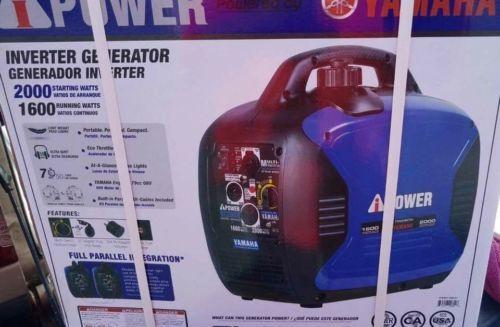 2000 watt ipower Yamaha inverter generator
