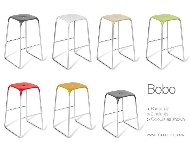 Bobo barstools - 2x heights, tall and small