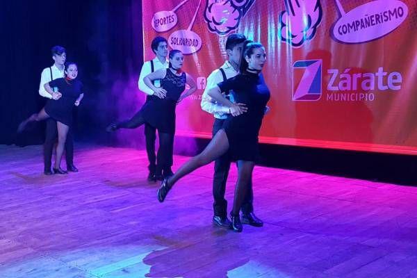 Numerosa participación en la competencia de tango del Costa Joven 2017