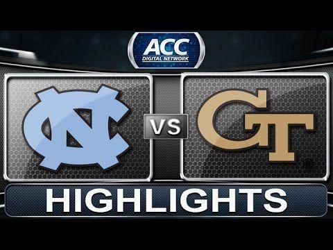North Carolina vs Georgia Tech | 2014 ACC Basketball Highlights