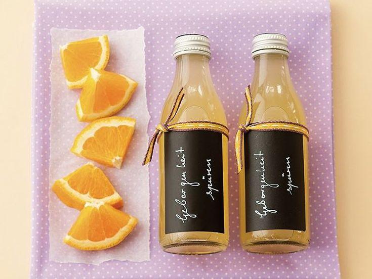 DIY-Anleitung: Orangen-Vanille-Raumduft selber machen via DaWanda.com