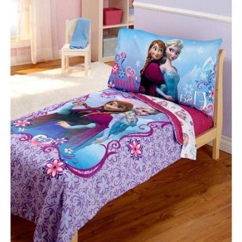 Frozen Comforter Set For Toddler Bed