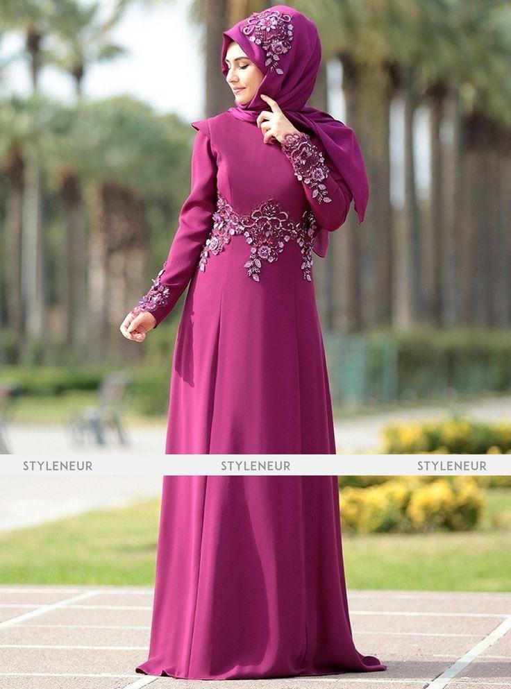 Mejores 372 imágenes de Hijab fashion en Pinterest | Abayas, Crepes ...