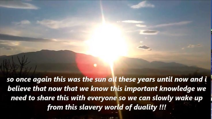 WHAT REALLY IS THE SUN ??? AFTER WATCHING THIS, YOUR WORLD WILL NEVER BE...