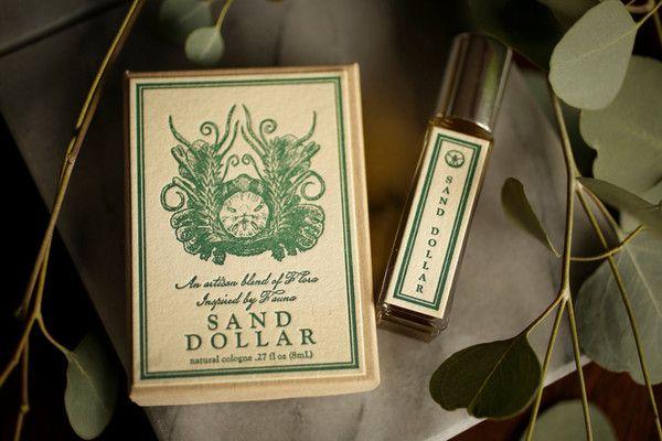 Sand Dollar - natural unisex cologne oil - Ocean, Jasmine, Beach, Sand, Seaweed, Sea Salt perfume by For Strange Women (or Men) - 8mL