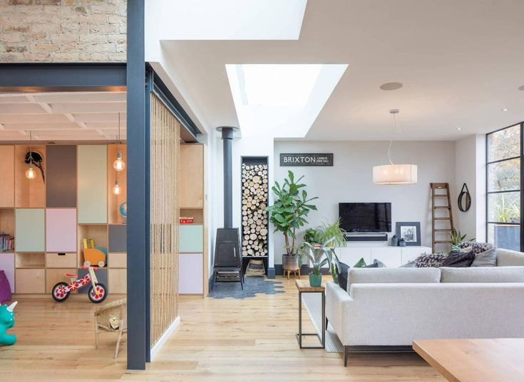 Tactile House By Thomas And Spiers Architects: A Split Level Family Home In  Dulwich
