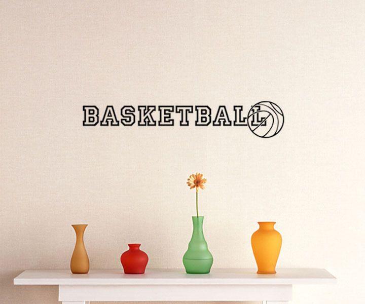 Баскетбол английский искусство слова обои съемные высокие водонепроницаемые стены переводные картинки виниловые Wallstickers