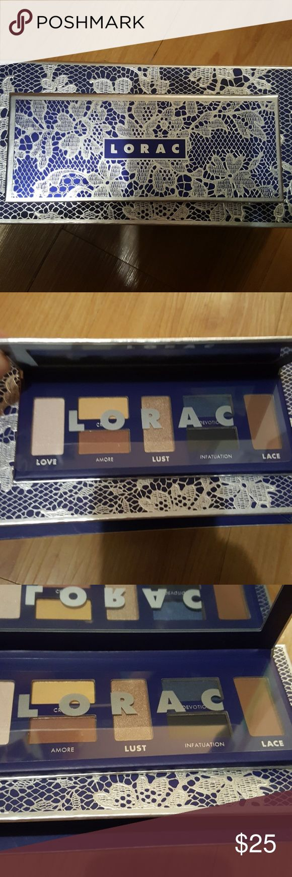 🦃SALE‼️NWTB 100%AUTHENTIC LIMITED EDITION LORAC LORAC Love, Lust & Love use this Beautiful sleek eyeshadow palette that contains 5 universally flattering dhimmer shades and 2 essential matte shades to enhance and romanticize your beautiful eyes because they are the windows of your soul LORAC Makeup Eyeshadow