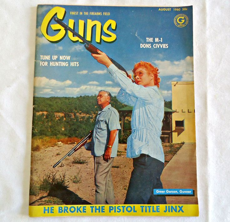 Guns Magazine 1960 August Edition Vintage by TreasureCoveAlly on Etsy