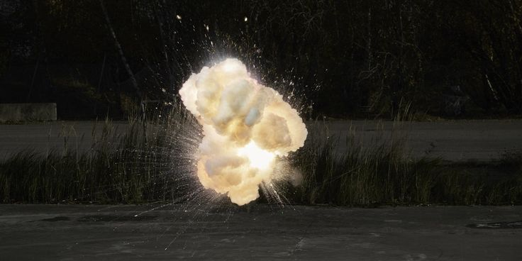 Ken Hermann and the Art of Controlled Explosions. #explosion #fineart #photography