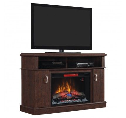 electric media fireplace