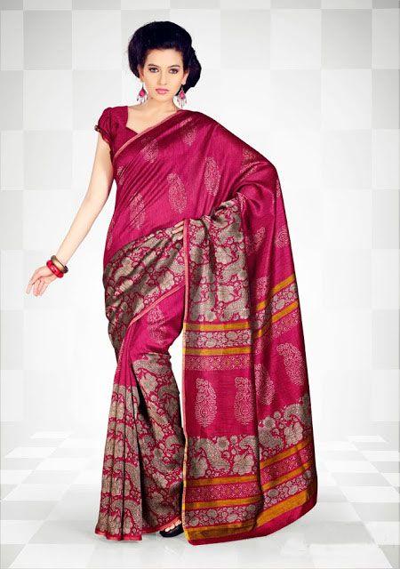 Pink Designers Silk Sarees #DesignerSilk #Sarees #IndianShopping