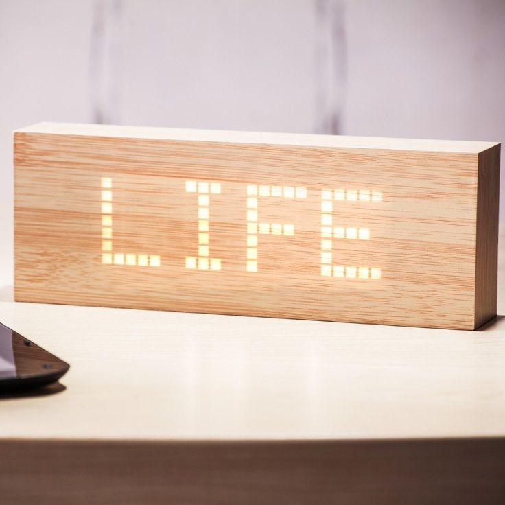 Beech Message Click Clock – Gingko Electronics Online Store