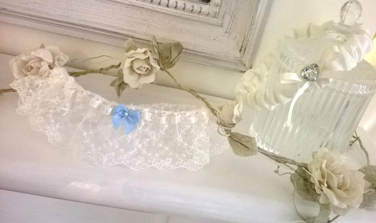 Handmade silk and lace garters from Beautiful Unique