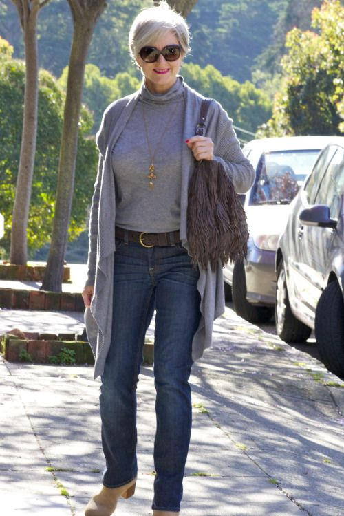 Style At A Certain Age Fashion for 40+ Denim