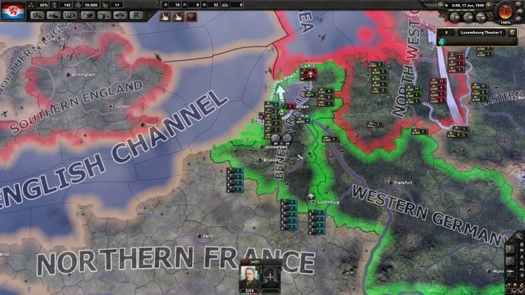 Hearts of Iron IV - Luxembourg Survival - Part 8