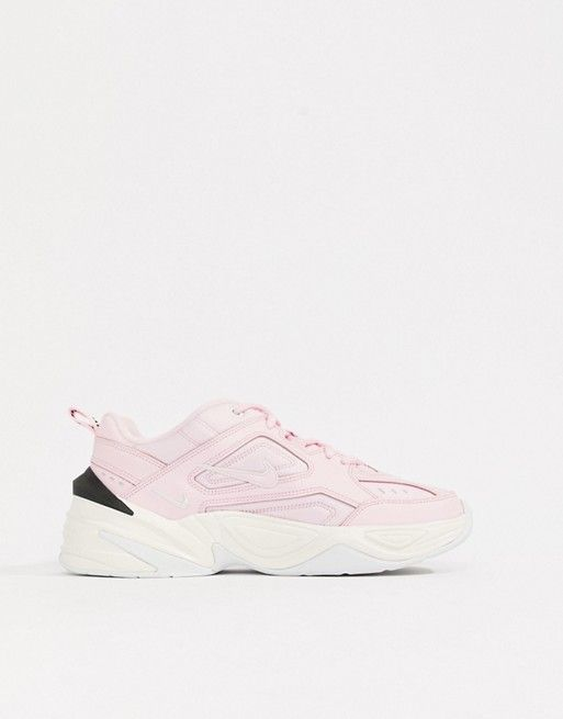 a8deb5d2d9c8a4 Nike Pink With Contrast Sole M2K Tekno Trainers