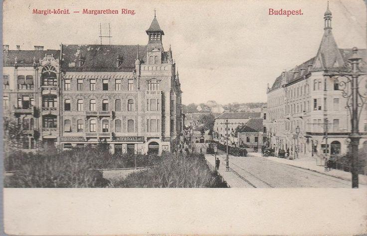 1890 körül. Margit híd budai hídfő.