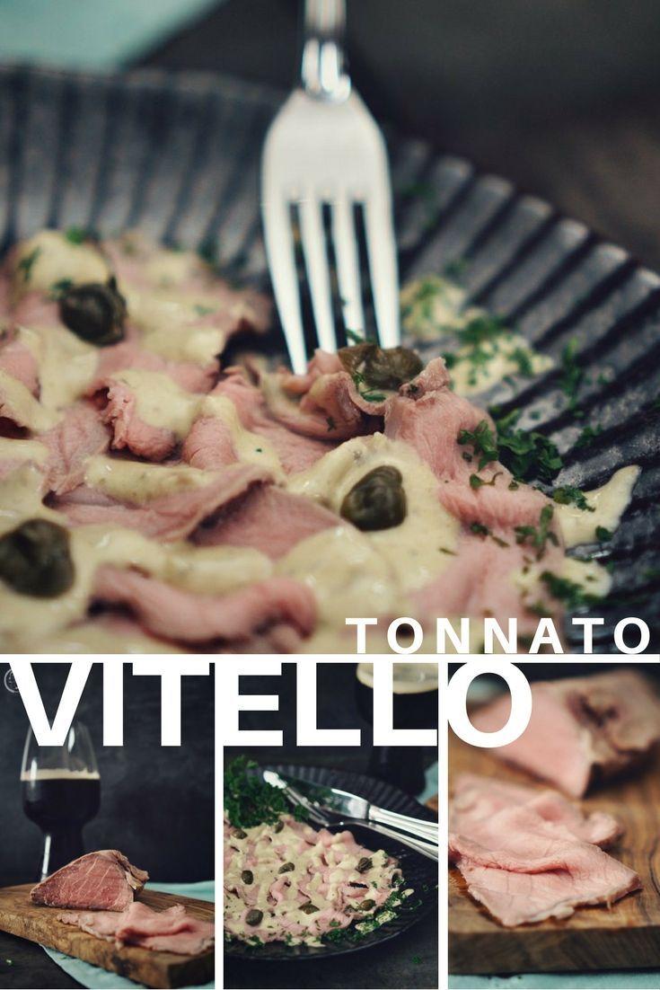 Vitello Tonnato, ein Klassiker der italienischen Küche zu unserem Bloggeburtstag. Wir freuen uns über das Gericht der Jungs!  #italienisch #italian #vitello #tonnato #kalb #veil #thunfisch #tunfisch #tuna #kapern #caper #antipasti