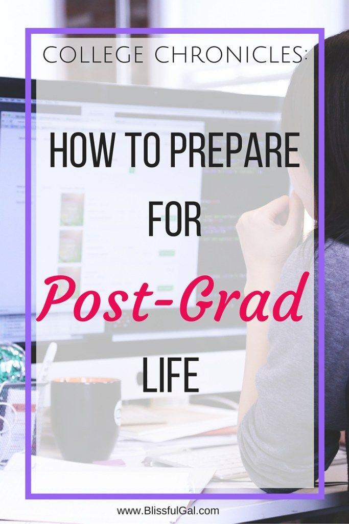 How to Prepare for Post-Grad Life - Time's ticking until graduation! Are you ready for the next step after you graduate? Although post-grad life can seem intimidating, if you prepare well enough, it will be a smooth transition! Find out how you can get ready for this next stage in life!