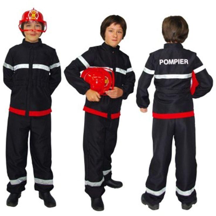 Déguisement Pompier : 3/5 ans