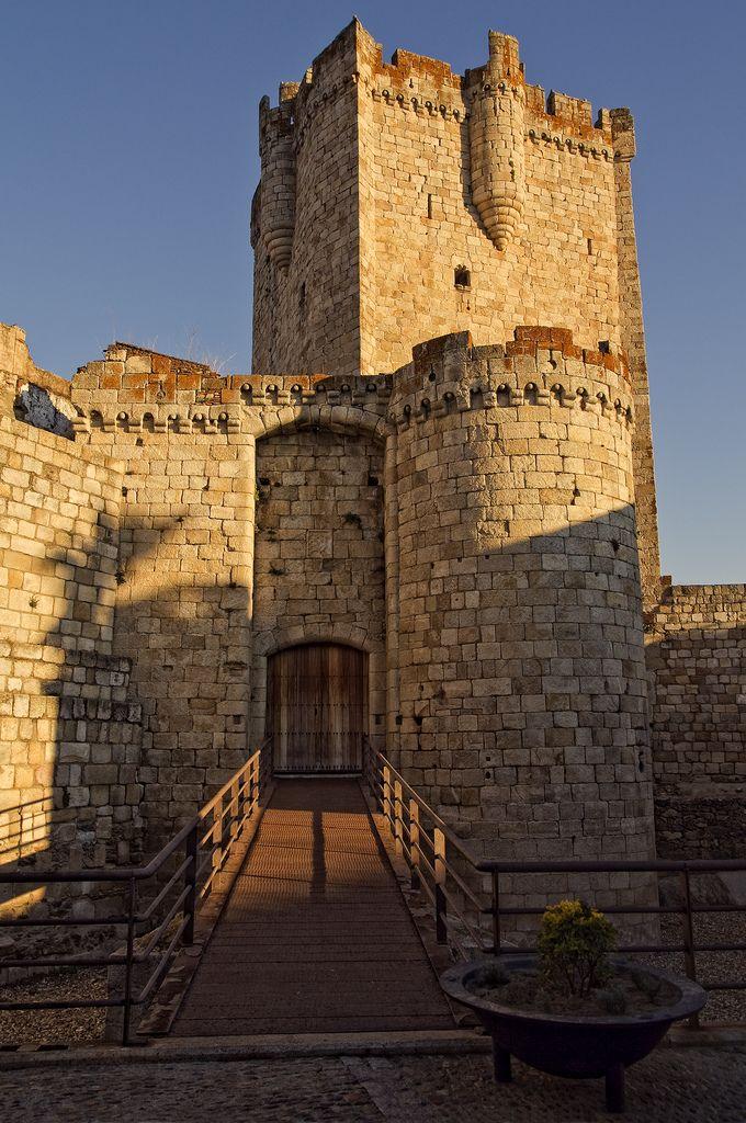 Castillo de Coria, Coria, Extremadura, Spain
