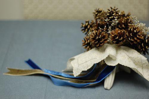 Pinecone boquet