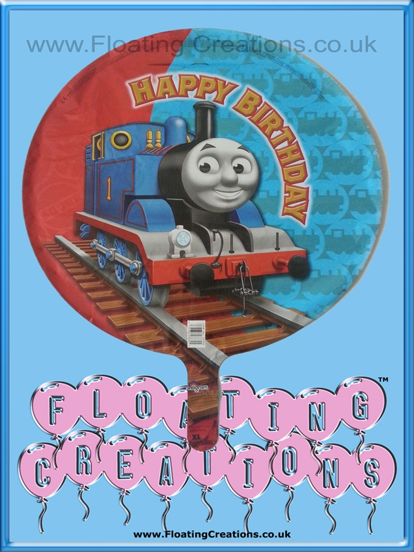 Thomas the Tank Engine Happy Birthday Balloon