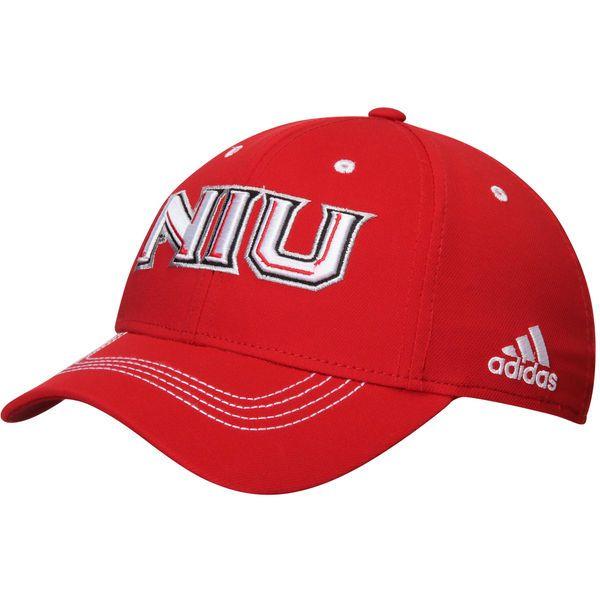 Northern Illinois Huskies adidas Sideline Coach Structured Flex Hat - Red - $23.99