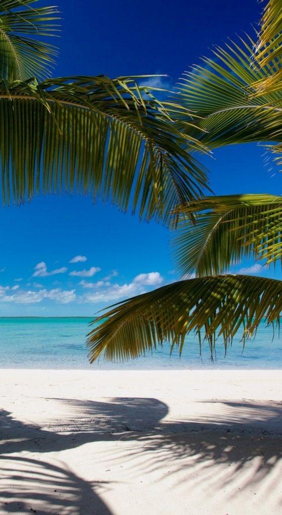 White sand beaches in the Bahamas