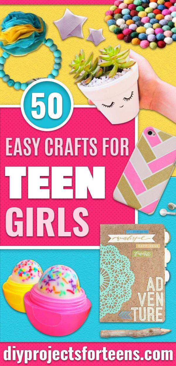 50 Easy Crafts voor tienermeisjes