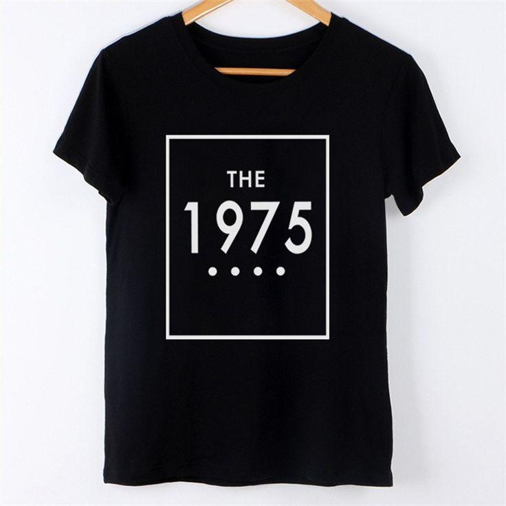 The 1975 - Hot and Black T Shirt Top for Women