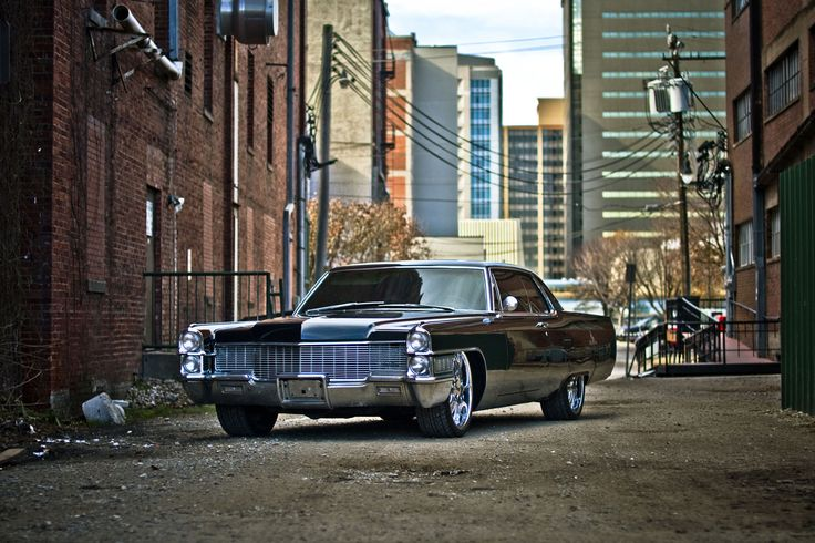 Cadillac- just like the ones I grew up with. :)