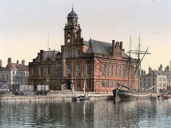 Town Hall, Yarmouth, England between 1890 and 1900