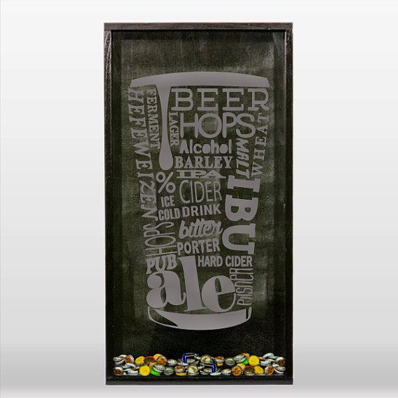 Beer Pint Words Glass  Vinyl Sticker Decal