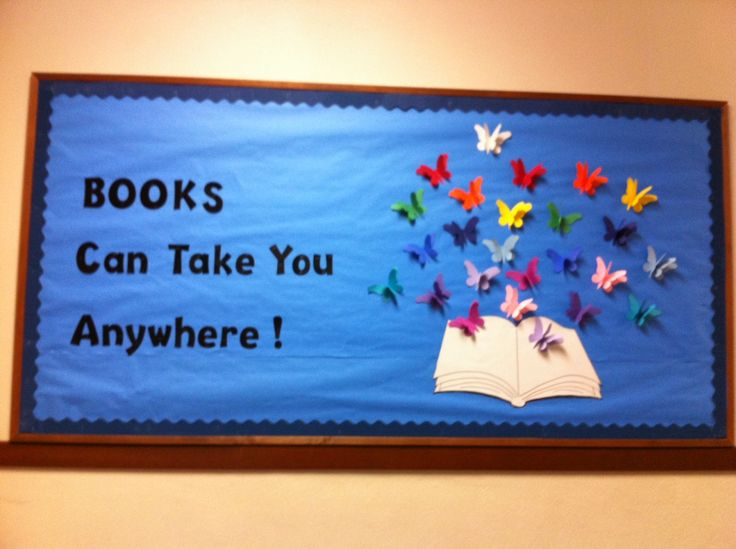 Library Bulletin Board: different caption- science theme?