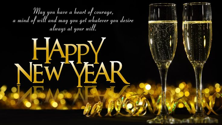 HAPPY NEW YEAR EVERYONE!  WISHING YOU THE BEST!  :-)